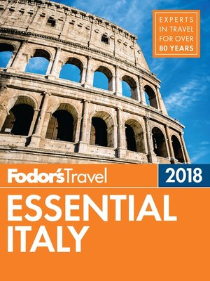 cover image of Fodor's Essential Italy 2018
