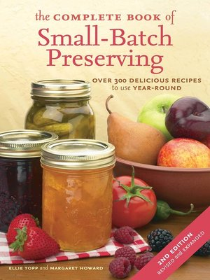 cover image of The Complete Book of Small-Batch Preserving