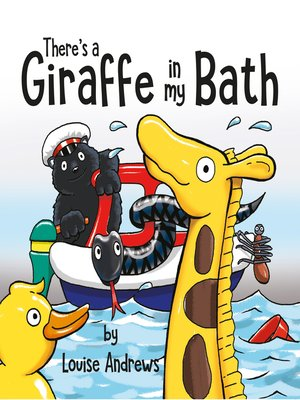 cover image of There's a Giraffe In My Bath!