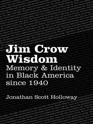 cover image of Jim Crow Wisdom