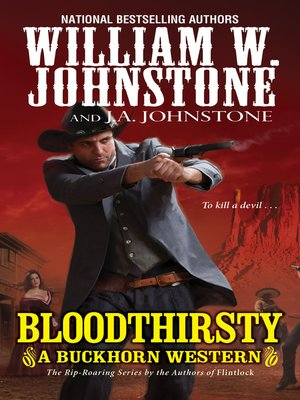 cover image of Bloodthirsty