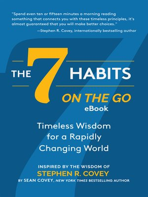 cover image of The 7 Habits on the Go