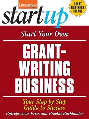 cover image of Start Your Own Grant-Writing Business