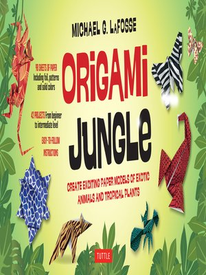 cover image of Origami Jungle Ebook