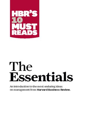 cover image of The Essentials
