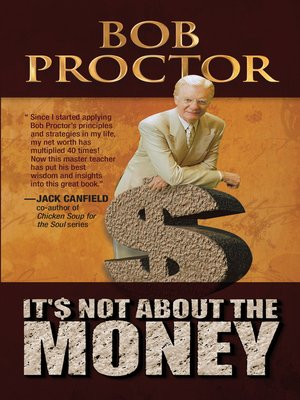 cover image of It's Not About the Money