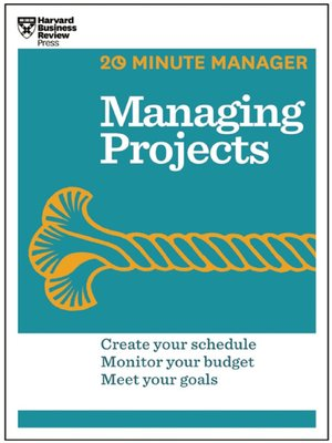 cover image of Managing Projects (20-Minute Manager Series)