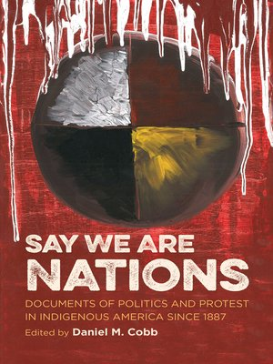 cover image of Say We Are Nations