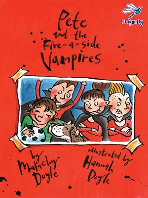 cover image of Pete and the Five-A-Side Vampires