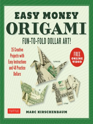 cover image of Easy Money Origami Ebook