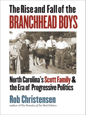 cover image of The Rise and Fall of the Branchhead Boys