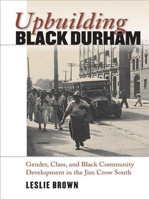 cover image of Upbuilding Black Durham