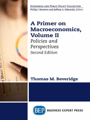 cover image of A Primer on Macroeconomics, Volume II