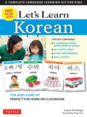 cover image of Let's Learn Korean Ebook