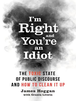 cover image of I'm Right and You're an Idiot