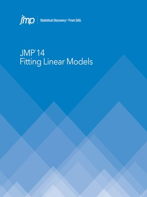 cover image of JMP 14 Fitting Linear Models