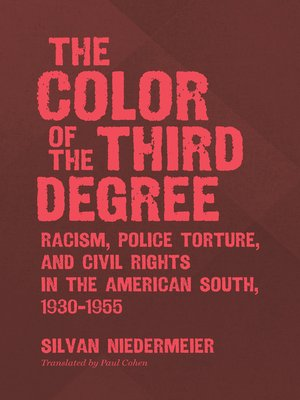 cover image of The Color of the Third Degree