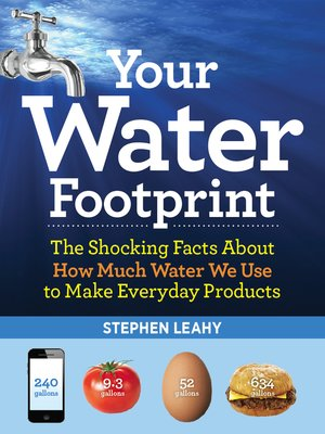 cover image of Your Water Footprint