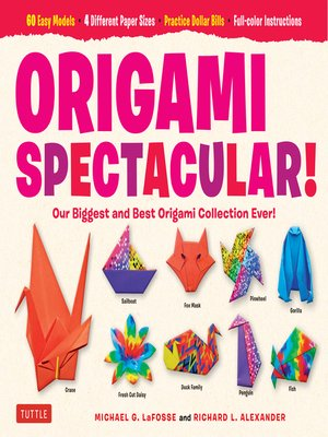 cover image of Origami Spectacular! Ebook