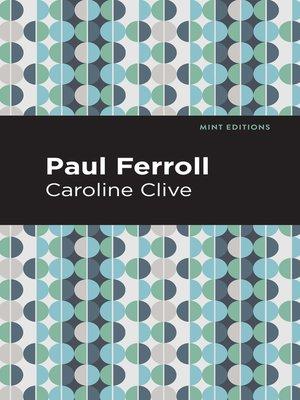 cover image of Paul Ferroll