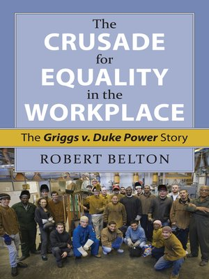 cover image of The Crusade for Equality in the Workplace