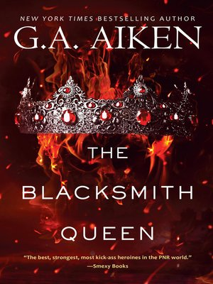 cover image of The Blacksmith Queen