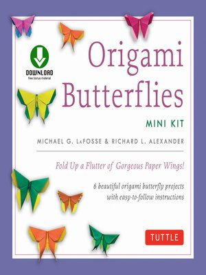 cover image of Origami Butterflies Mini Kit Ebook