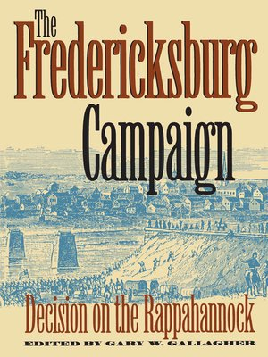 cover image of The Fredericksburg Campaign