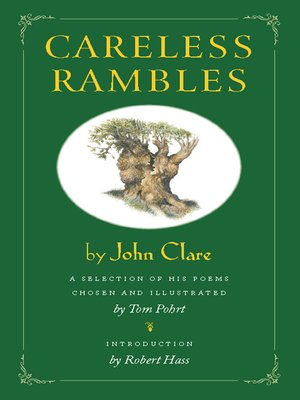 cover image of Careless Rambles by John Clare