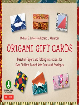 cover image of Origami Gift Cards Ebook
