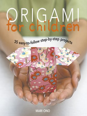 cover image of Origami for Children