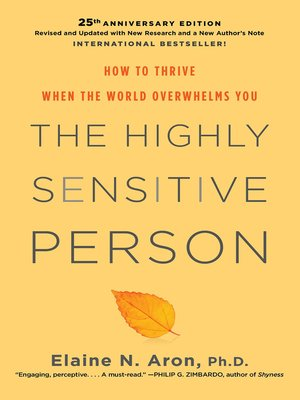cover image of The Highly Sensitive Person
