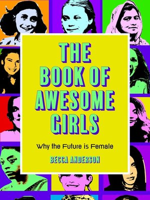 cover image of The Book of Awesome Girls