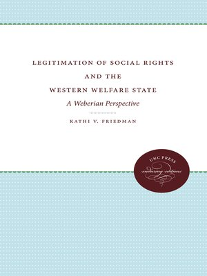 cover image of Legitimation of Social Rights and the Western Welfare State