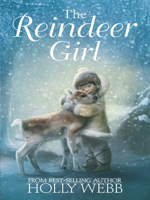 cover image of The Reindeer Girl