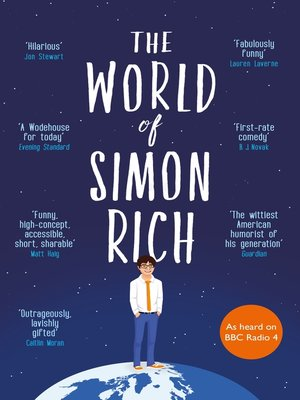cover image of The World of Simon Rich