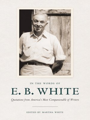cover image of In the Words of E. B. White