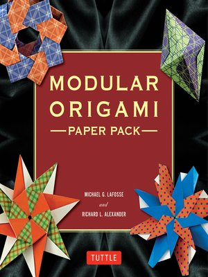 cover image of Modular Origami Paper Pack