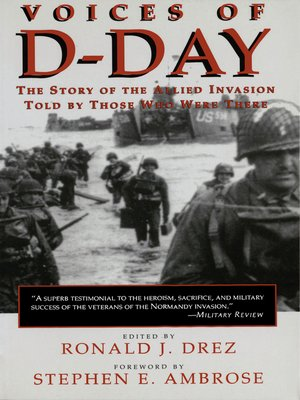 cover image of Voices of D-Day