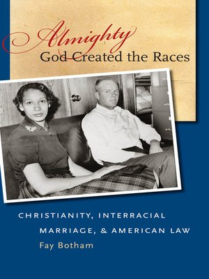 cover image of Almighty God Created the Races