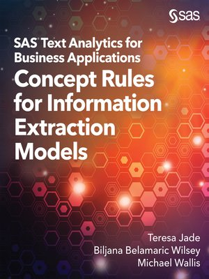 cover image of SAS Text Analytics for Business Applications