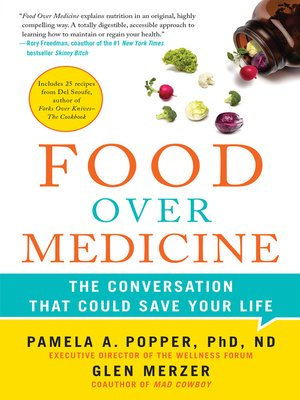 cover image of Food Over Medicine
