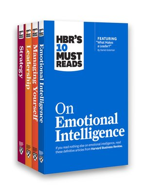 cover image of HBR's 10 Must Reads Leadership Collection
