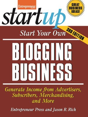 cover image of Start Your Own Blogging Business