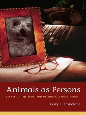 cover image of Animals as Persons