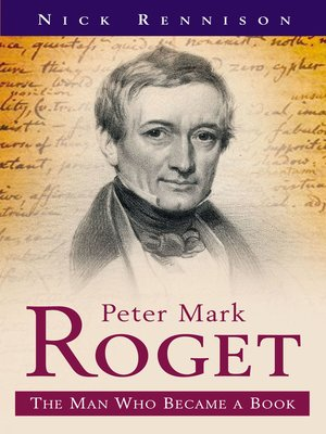 cover image of Peter Mark Roget
