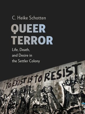 cover image of Queer Terror