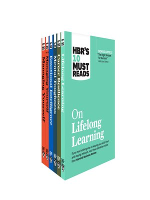 cover image of HBR's 10 Must Reads on Managing Yourself and Your Career 6-Volume Collection