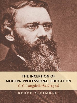 cover image of The Inception of Modern Professional Education