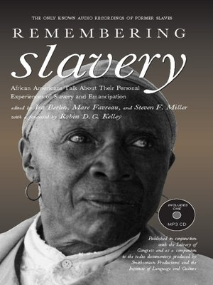 cover image of Remembering Slavery